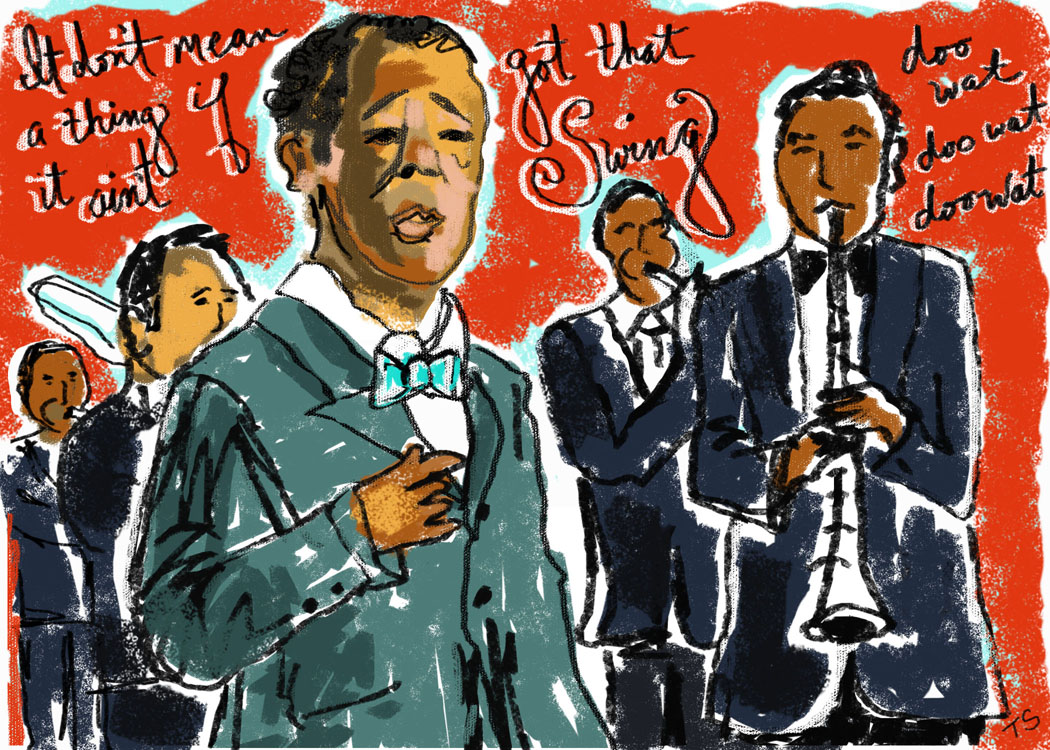Duke Ellington by Tara Seibel