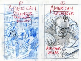 "Dean Haspiel's ""Anatomy of an American Splendor Cover"""