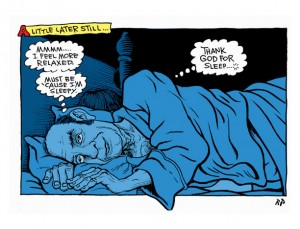 """from """"Untitled"""" by Harvey Pekar & Rick Parker"""