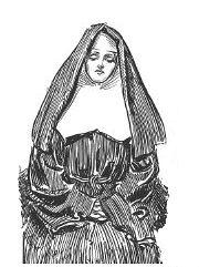 nun_woodcut